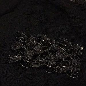 Jewelry - Black lace bracelet